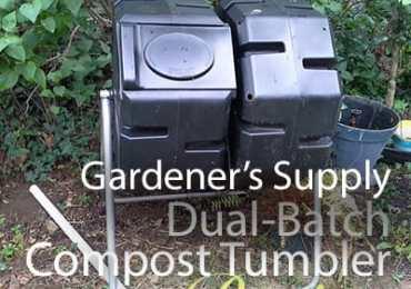 Dual--Batch Compost Tumbler