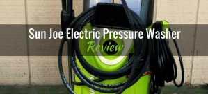 Sun Joe electric pressure washer review