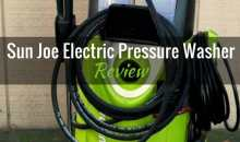 Sun Joe Electric Pressure Washer (SPX3000): Product Review