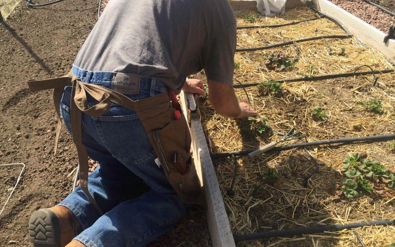 gardeners supply split apron back tie