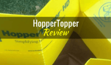 HopperTopper Lawn & Leaf Funnel: Product Review