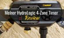 Melnor HydroLogic Four-Zone Electronic Water Timer (#73280): Product Review