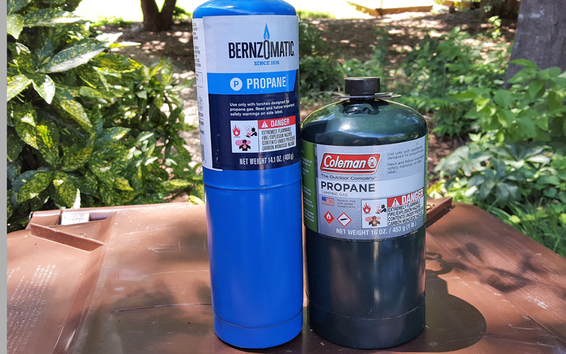 Breez R2 propane canister