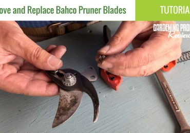replace bahco pruner blades