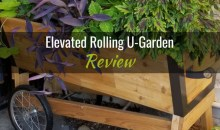 Elevated Rolling U-Garden and Watering System: Product Review