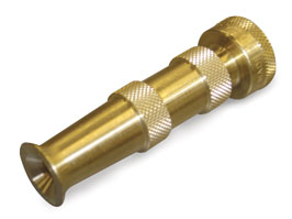 traditional or straight garden nozzle