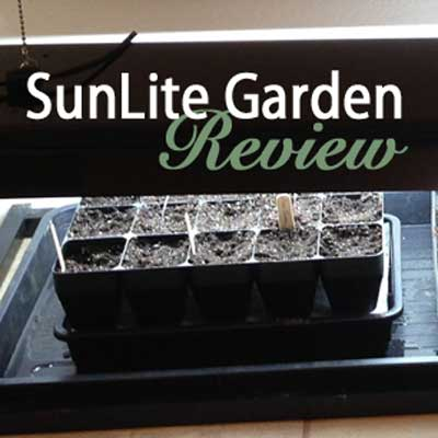 SunLite Garden Indoor Grow Light & Stand