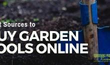 Best Sources to Buy Gardening Tools Online
