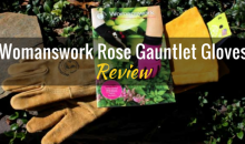 Leather Rose Gauntlet Gloves by Womanswork: Product Review