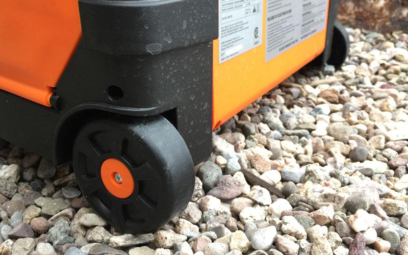 yard force pressure washer wheels