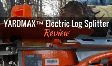 YARDMAX™ Electric Log Splitter: Product Review