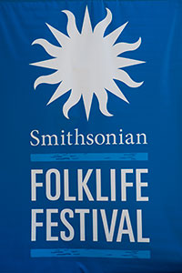 Folklife Festival banner