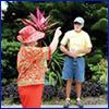 Charlotte County Master Gardeners in garden