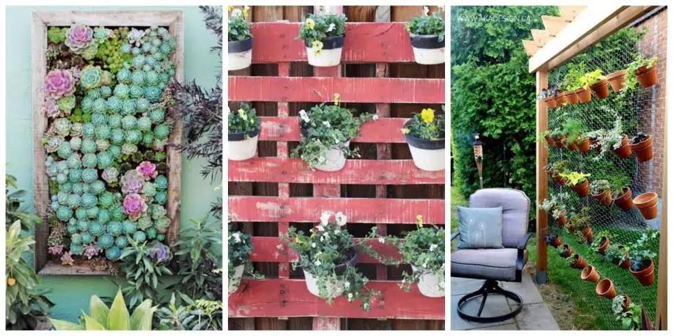 25 Creative Ways To Plant A Vertical Garden
