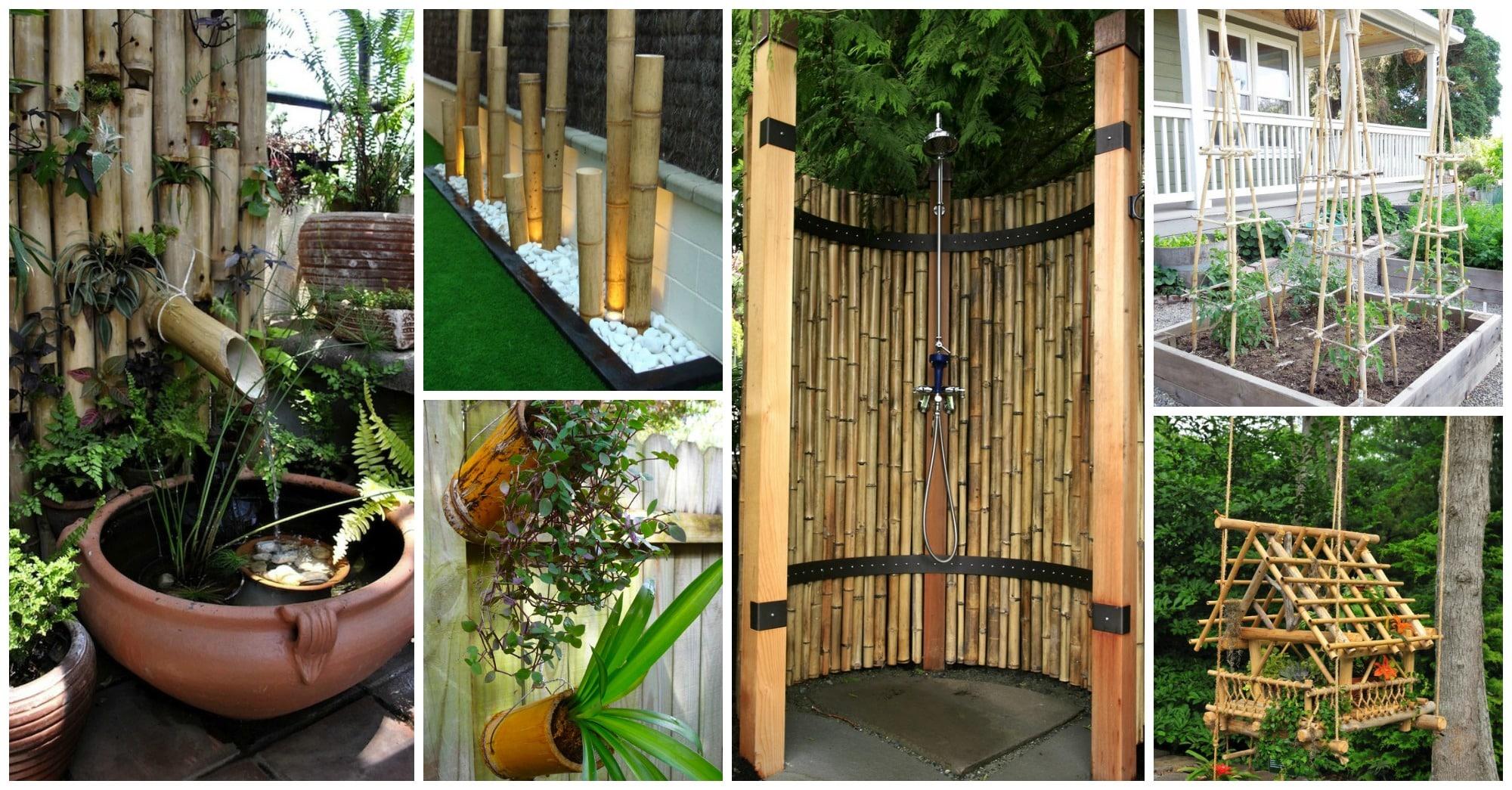 Ideas para hacer con bambu