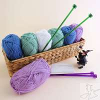 Beginners Knitting workshop with GardeningWitch Designs