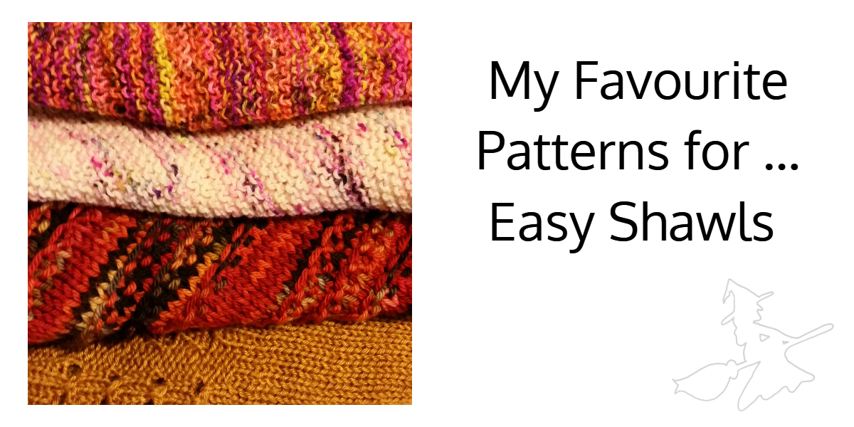 My Favourite Patterns for ... Easy Shawls