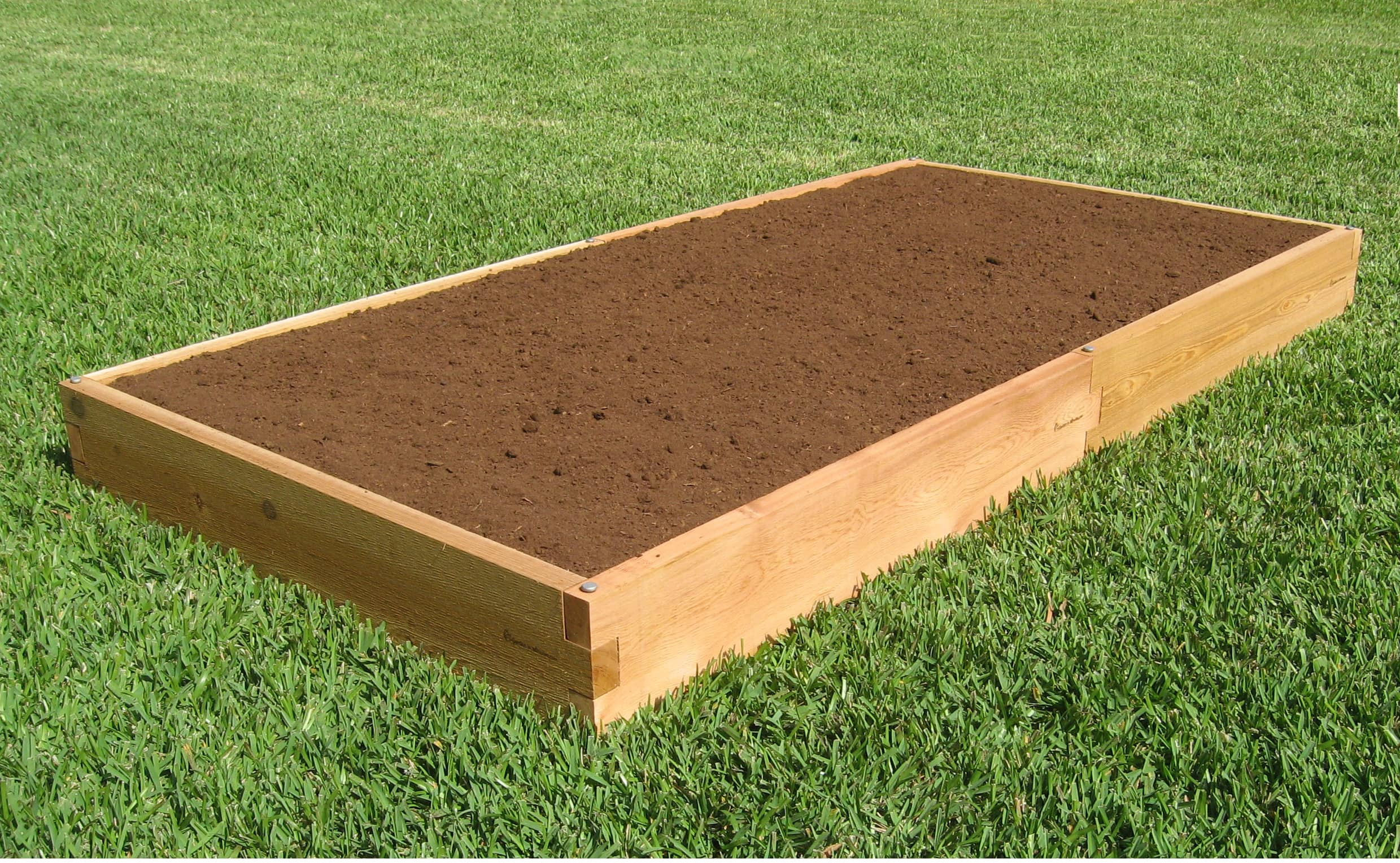 Raised Garden Bed Construction