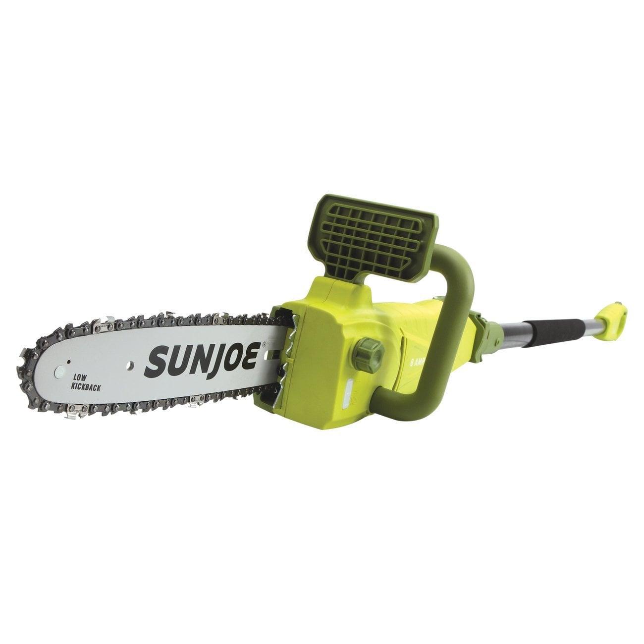 "Sun Joe SWJ807E 10"" 8-Amp Electric Convertible Pole/Chain Saw"