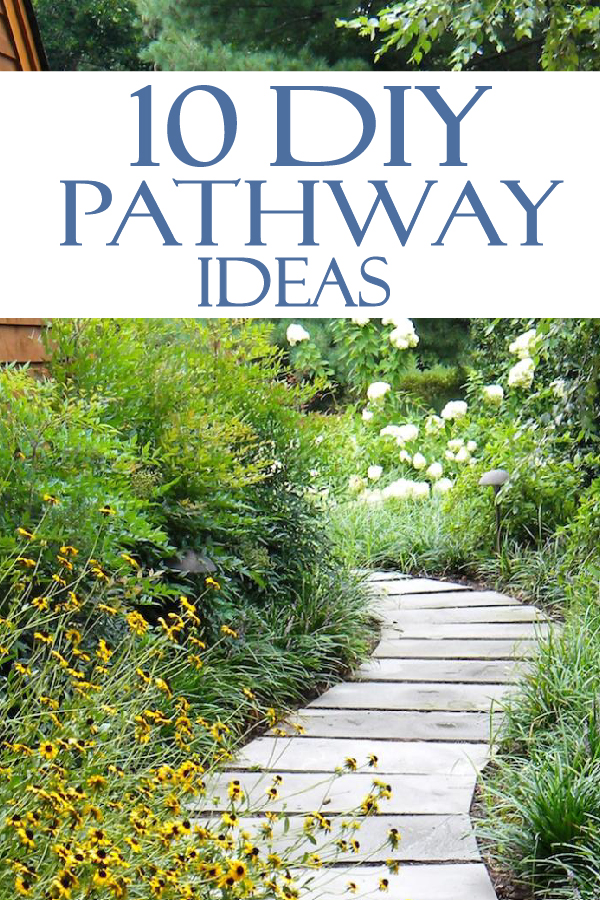 10 Beautiful DIY pathway ideas for your yard!