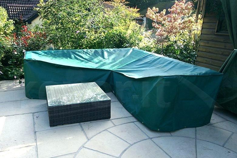 L Shaped Garden Furniture Covers & Modular Corner Sofa Covers