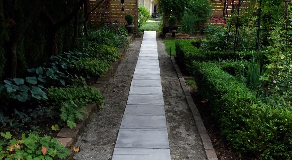 Installing Our Garden Path