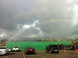 Rainbow, look again it's double!!