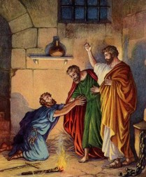Image result for clipart Philippian jailer