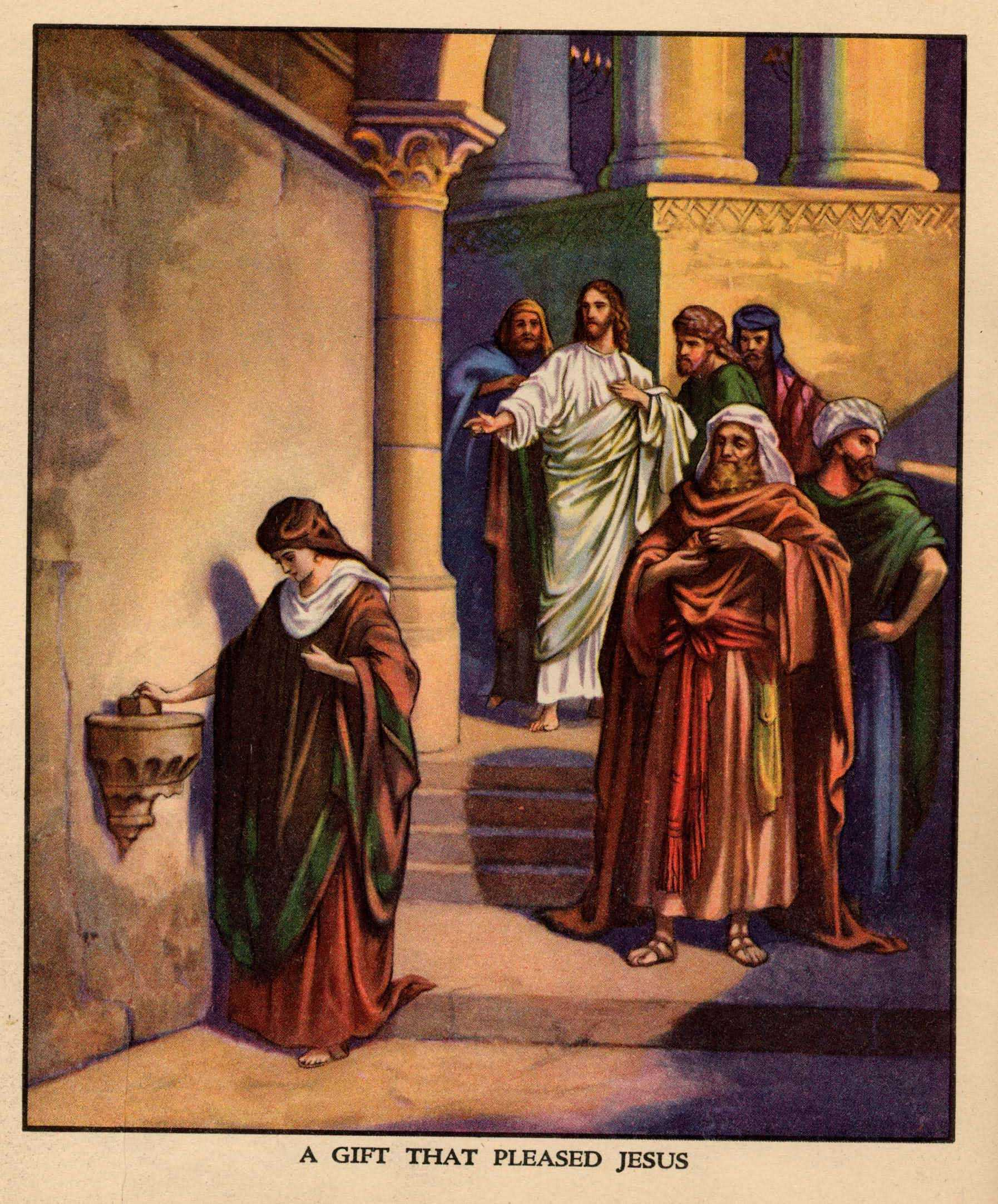 Garden Of Praise Lessons On Giving Bible Story