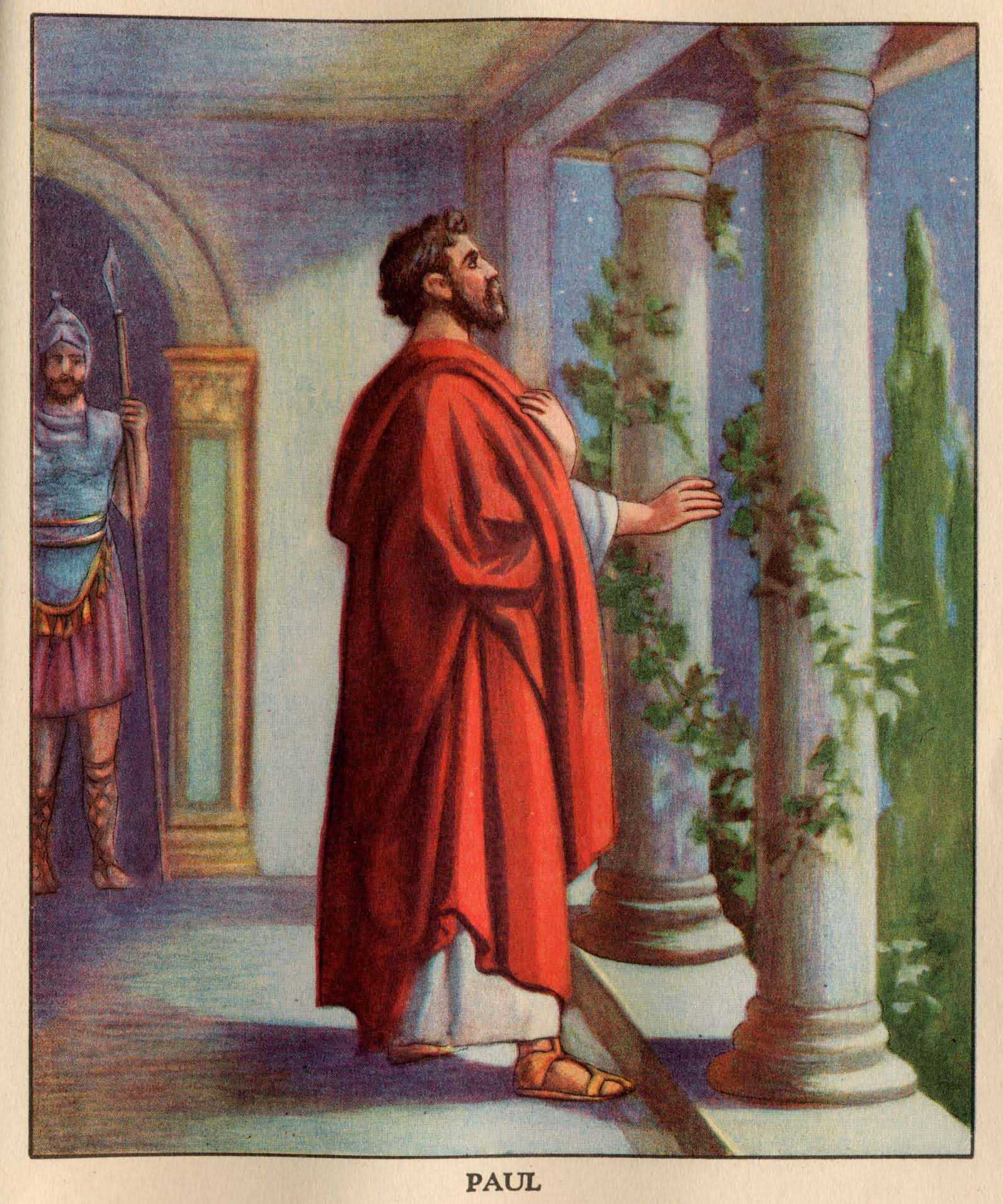 Garden Of Praise Paul A Prisoner In Rome Bible Story
