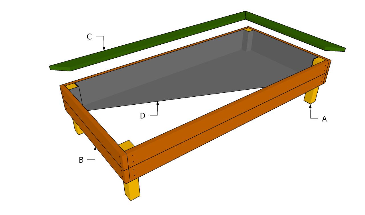 Vegetable Garden Box Construction