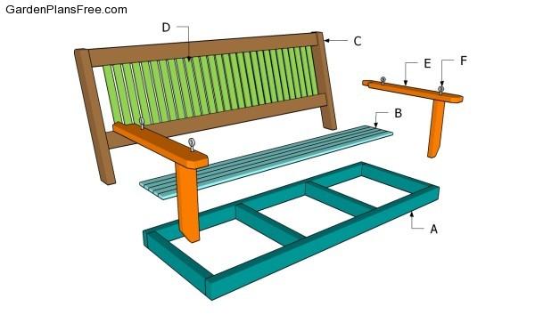 Free Porch Swing Plans Diy Blueprint Plans Download Plans
