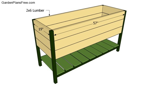 Raised Planter Box Plans Free Garden Plans How To