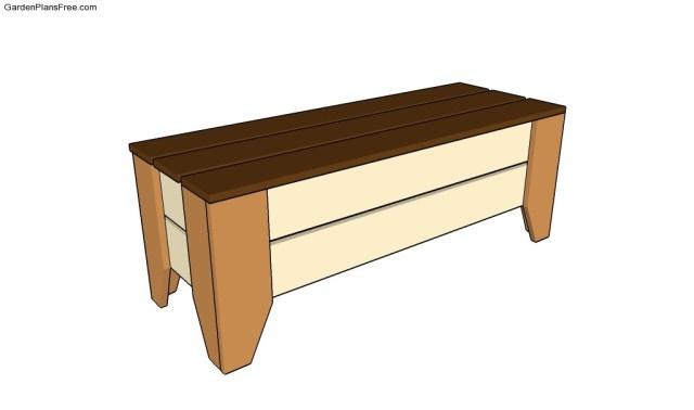 How to build a park bench | Free Garden Plans - How to build garden ...