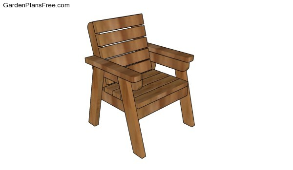 Outdoor Chair Plans | Free Garden Plans - How to build garden projects