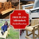 14 Absolutely Free Adirondack Chair Plans For Your Garden