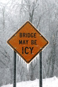 icy bridgge
