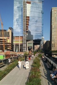 The High Line near West 30th St.