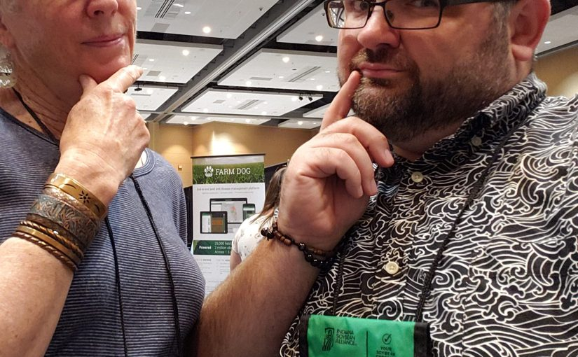 GPs at the Tradeshow:  Looking for snake oil and finding…..the dirt on tillage