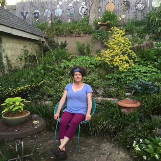 Mary Vaananen at home. Louisville, KY.