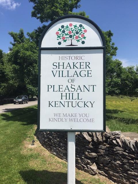 Shaker VIllage sign 052916 (1)