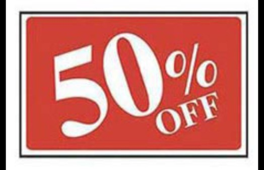 Selected DeciduousTree and Shrub Sale 50% off, IN STORE Special only.
