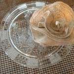 Cake Stand and Cute Cup Cake Arrangement