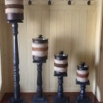 Candlestick Stands for Canisters