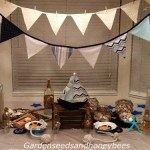 Bunting/Banner in Blue