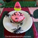 Neon Watermelon Cupcakes