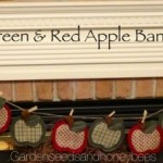 Green & Red Apple Banner
