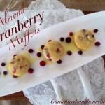 Almond Cranberry Muffins