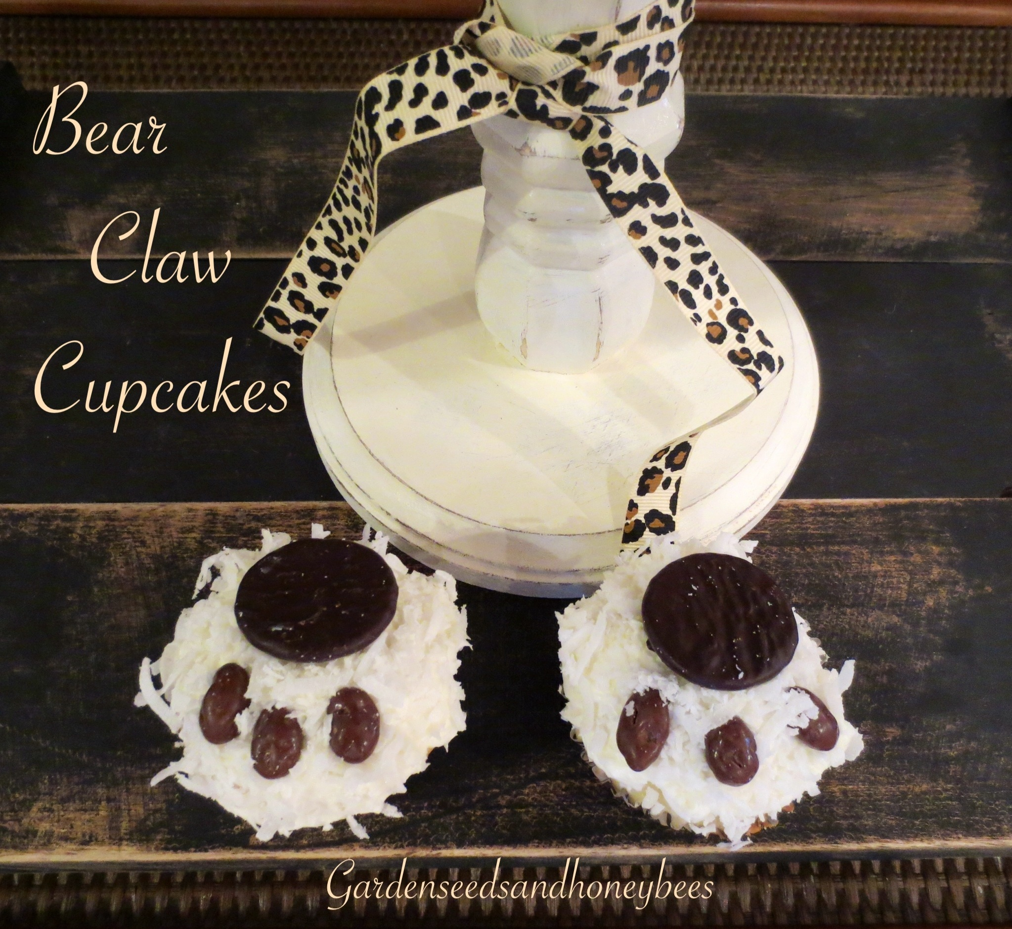 Bear Claw Cupcakes Garden Seeds And Honey Bees