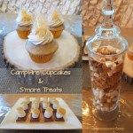 Campfire Cupcakes and S'more Treats